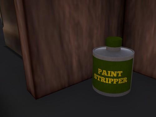 DAY TWENTY-FIVE: Paint Stripper