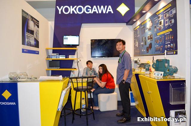 Yokogawa Exhibit Booth