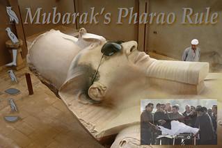 Mubarak's Pharao Rule 2014