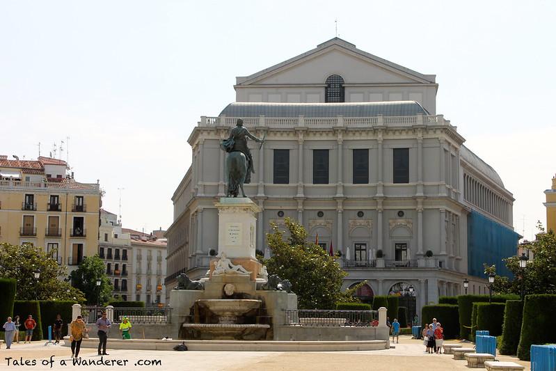 MADRID - Plaza de Oriente