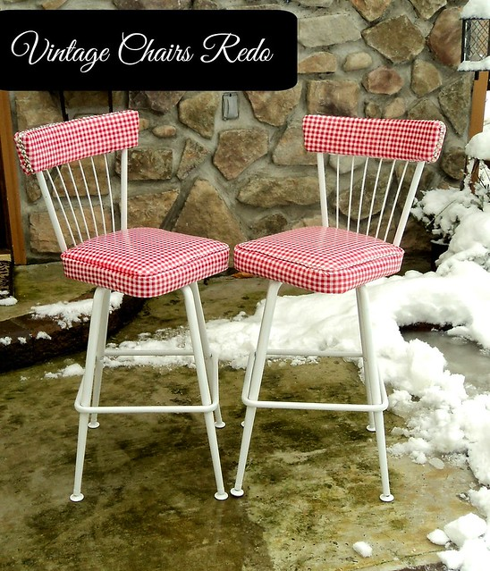 vintage chairs redo