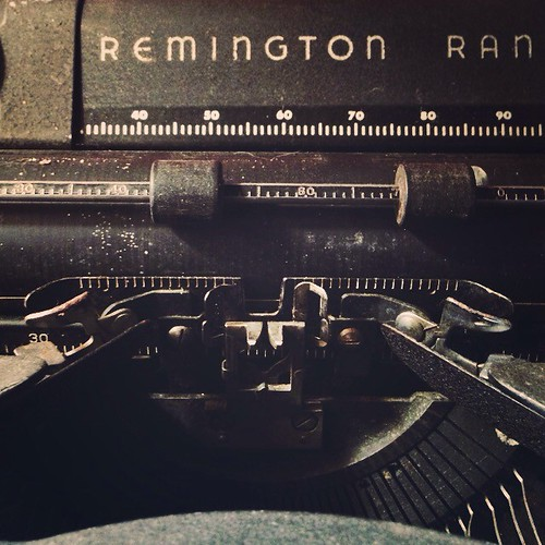 Remington Rand #typewriter #Brenham