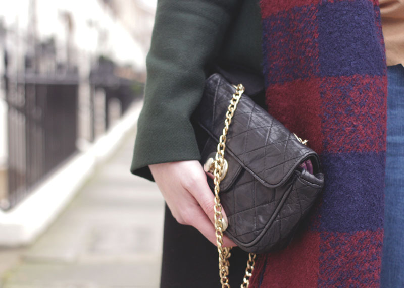 Tartan Scarf and Chanel Bag, Bumpkin Betty