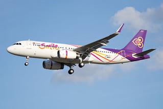F-WWDP / HS-TXS - Airbus A320-232(WL) - Thai Smile - msn 6417