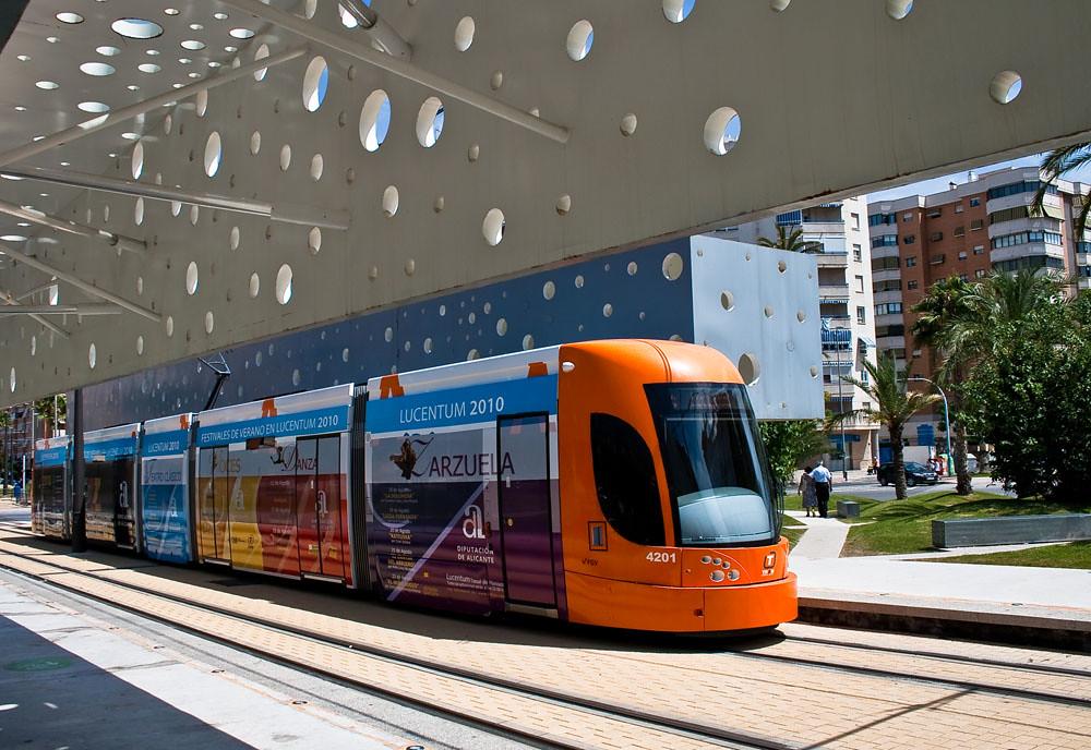 Tranvía. TRAM - Provincia de Alicante