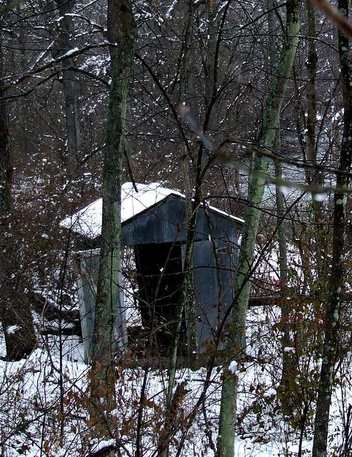 creekside shack