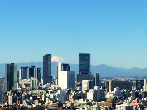 富士山がきれいでした 2014/12/2