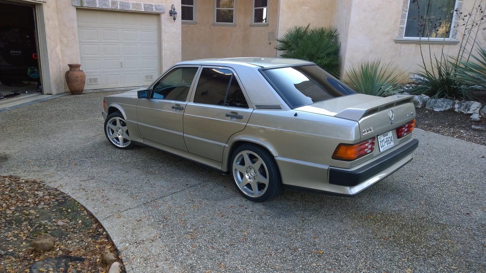 1985 Mercedes-Benz 190E 2 3-16   Retro Rides