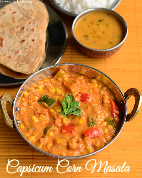 capsicum-corn-masala-recipe