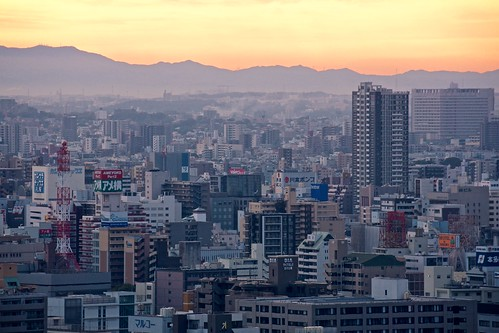 building japan skyscraper sunrise cityscape sony nagoya 日本 density 名古屋 ビル 日の出 朝焼け 高層ビル apsc sel55210 e55210mmf4563oss ©jakejung