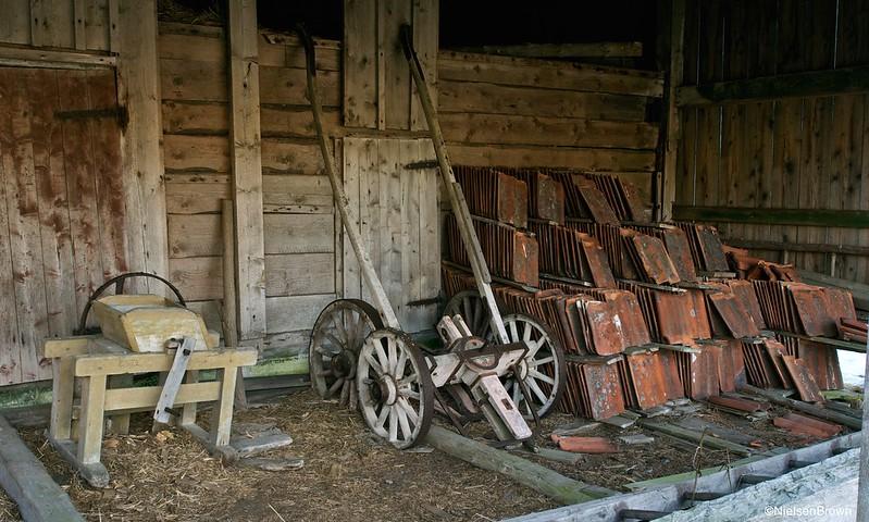 Old farming equipment ____-imp