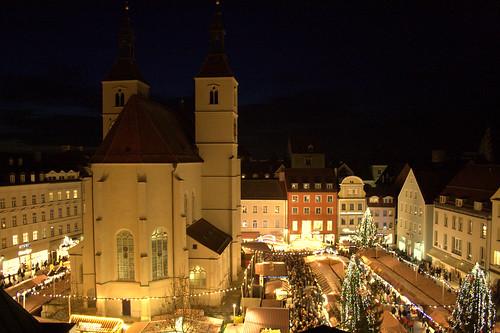 Weihnachtsmarkt (night - noite)