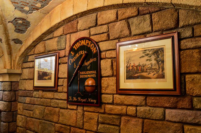 Wall Hangings in the Toad Hall Kitchen