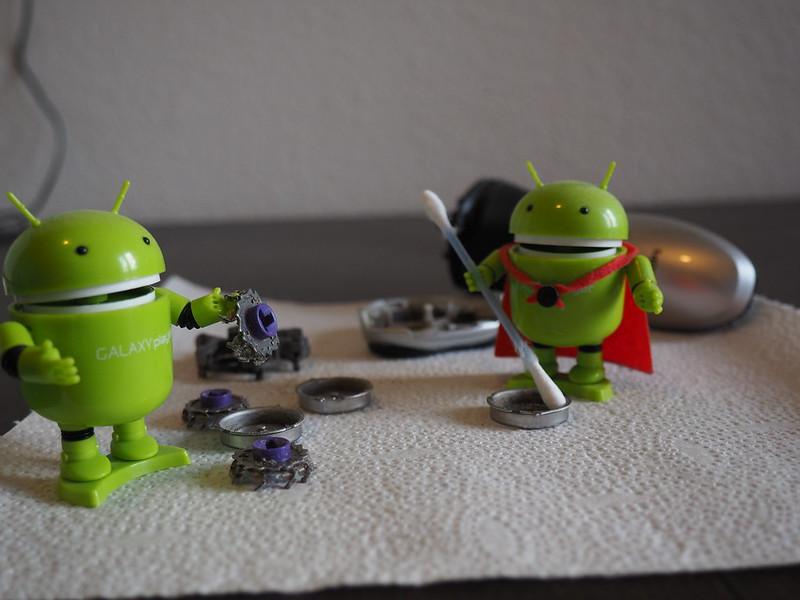 Android Reinigungskräfte