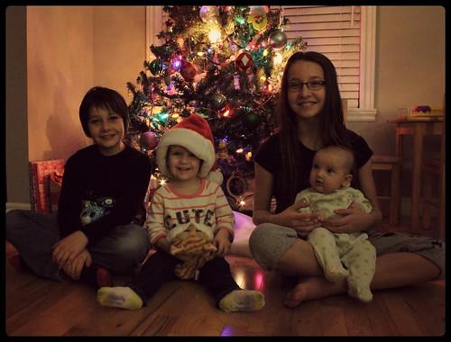 4 enfants noel