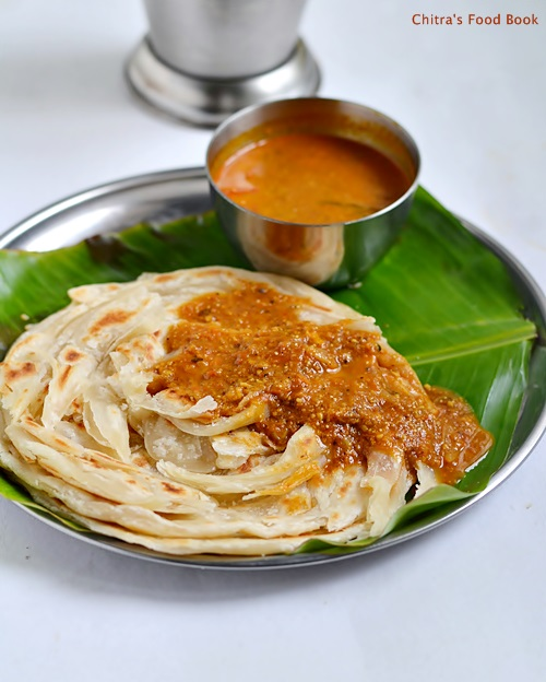 parotta recipe without egg