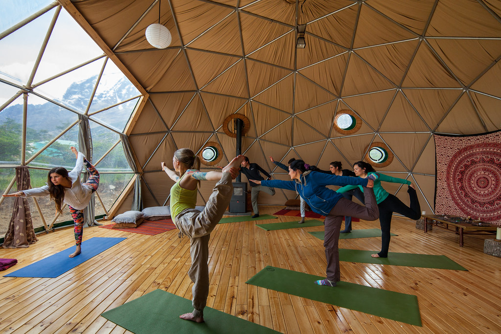 EcoCamp Yoga Dome