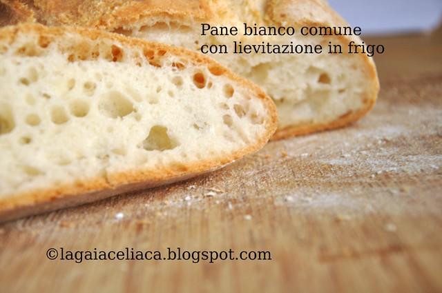 Gluten free bread - Pane bianco comune