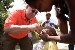 Rotary International advocacy visit to Ethiopia to support the polio eradication efforts and participate in the National Polio Immunization campaign