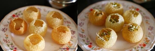 add potato+sprouts