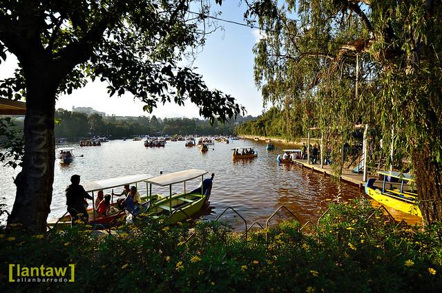 Burnham Park lagoon