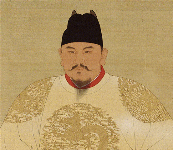 Official court painting of the Hongwu Emperor