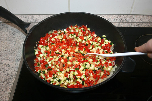 28 - Gemüse andünsten / Braise vegetables
