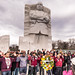 Hands Up Don't Shoot: At the Martin Luther King Jr. Memorial by ehpien
