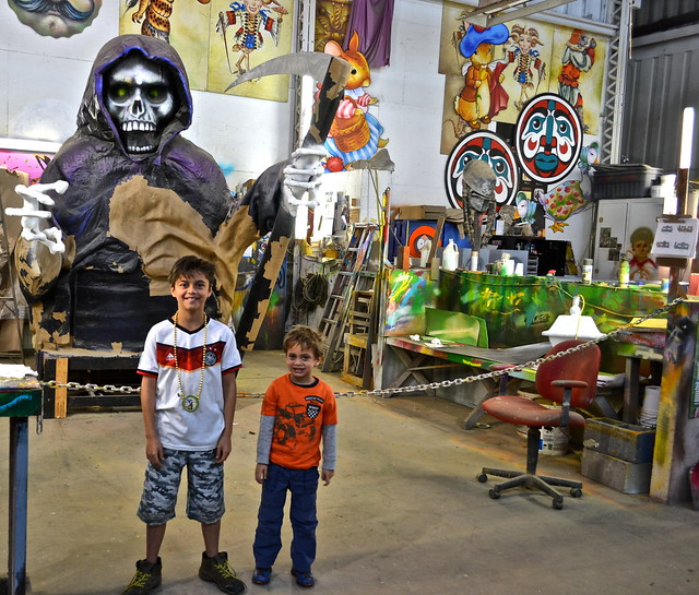 Mardi Gras World New Orleans - kid friendly
