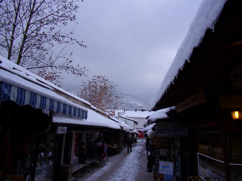 A street in Old Sarajevo