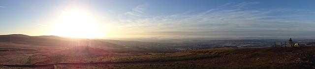 Sunrise over Bolton