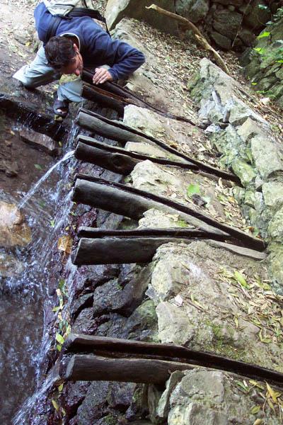 Los Chorros de Epina. © Lola Vázquez, 2003