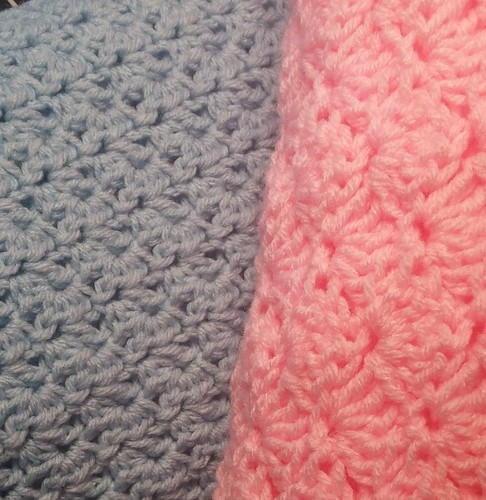 2015-01-29 Crochet Baby blankets