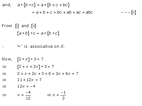 RD Sharma Class 12 Solutions Chapter 3 Binary Operations Ex 3.2 Q8-i