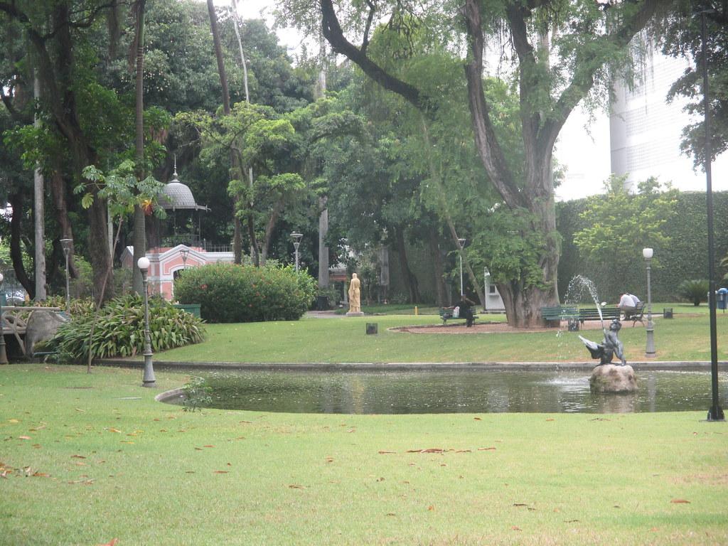 Jardin du Palais de Catete