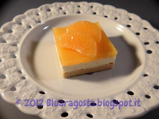 06-cocco cheesecake con gelatina al mandarino