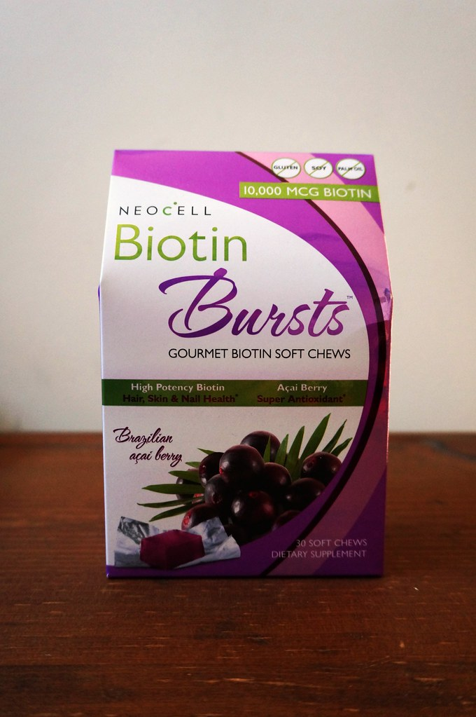 Biotin Bursts Hair Nails 1