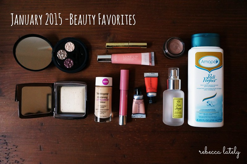 January 2015 Beauty Favorites 1