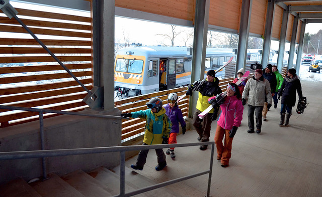 Le Massif ski train