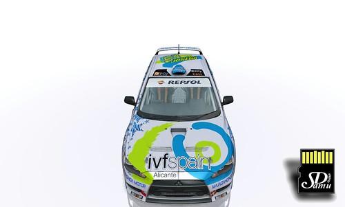 Vehículo Team IVFSpain Joseba Castro