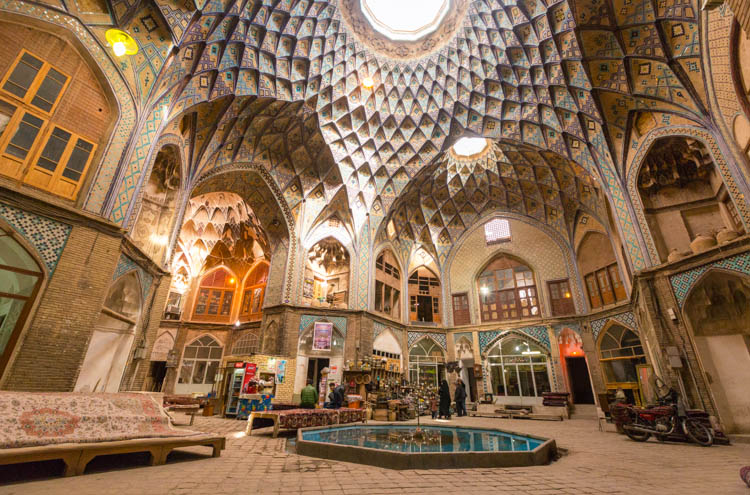 The Captivating Bazaars of Iran [Photos]