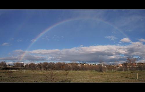 madrid españa arcoiris spain europa coslada parquedelhumedal áreascaninas recintoperrosbarriopuerto