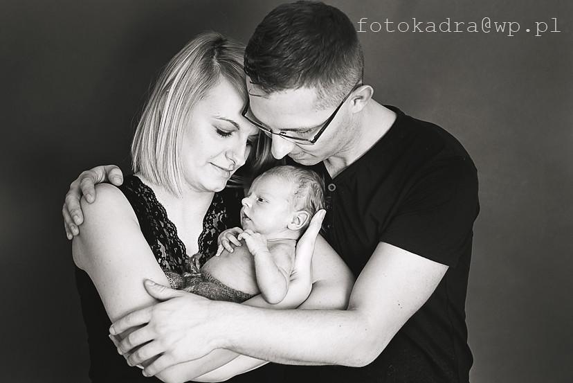 zdjęcia rodzinne -noworodki Grudziądz
