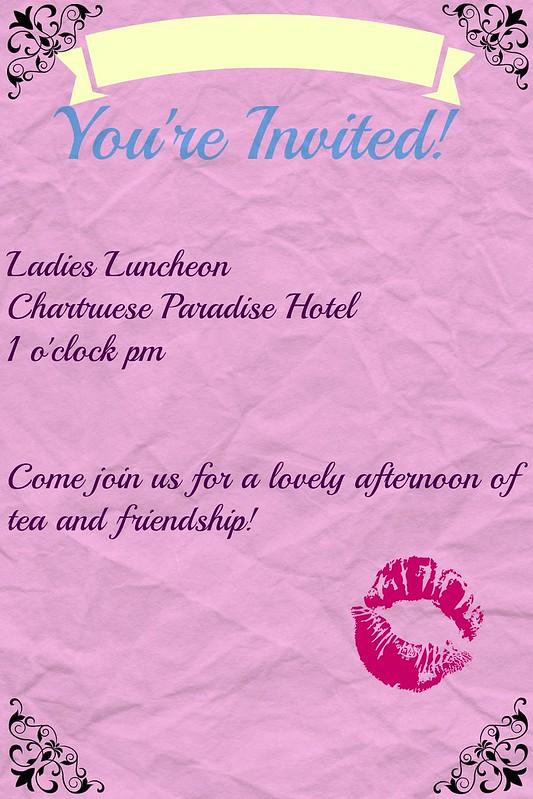 tacky invitation