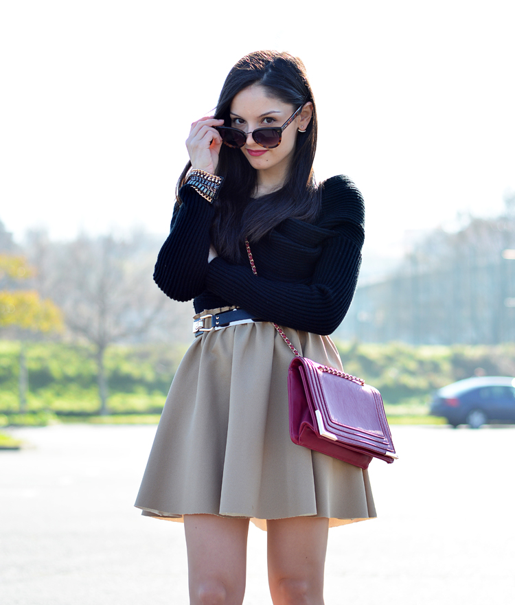 Zara_ootd_camel_chicwish_outfit_burdeos_boots_botines_10