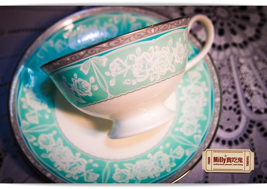 日本NARUMI鳴海骨瓷午茶杯盤組0006