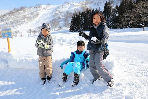 前進中里滑雪場
