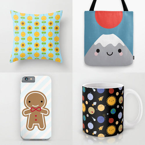 Lots of discounts at Society6 today - up to 20% off!