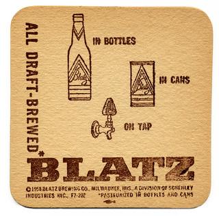 All Draft-Brewed Blatz