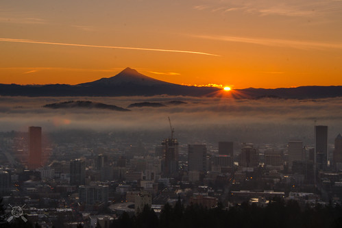 winter oregon sunrise portland nikon portlandor portlandoregon pittockmansion 2015